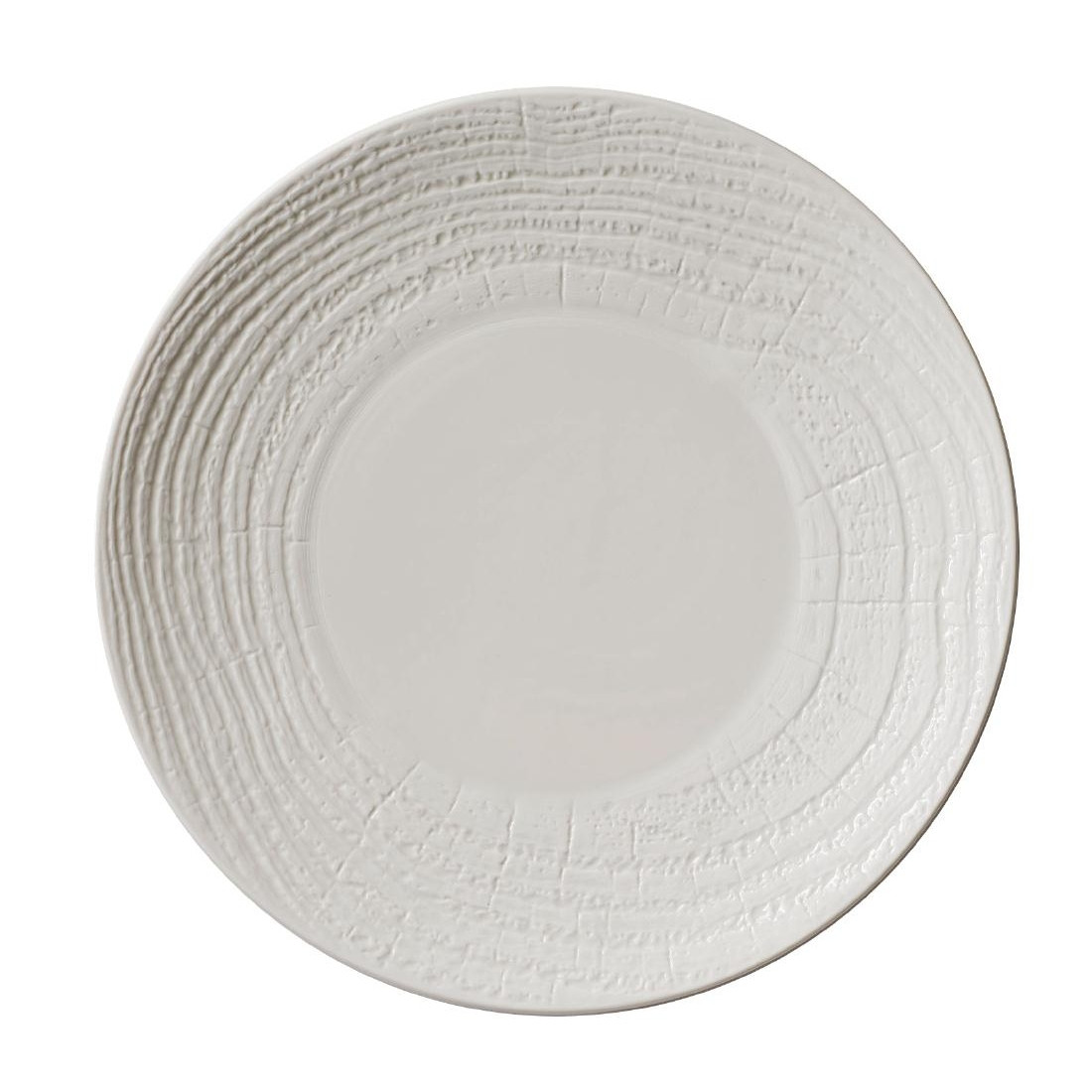 Superieur Revol Arborescence Round Plate Ivory 310mm