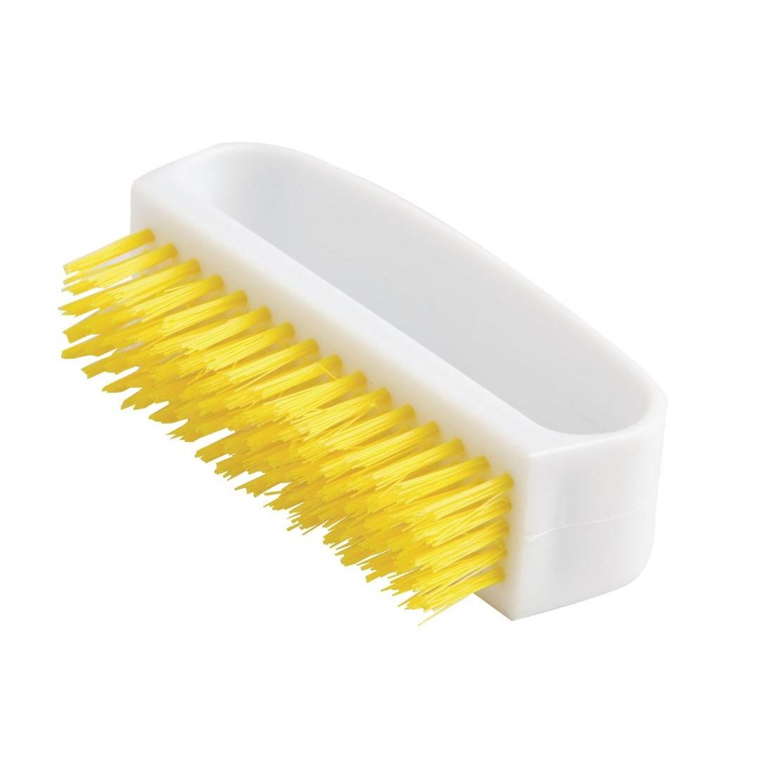Jantex Nail Brush Yellow | Hand Brushes | Dustpan and Brushes ...
