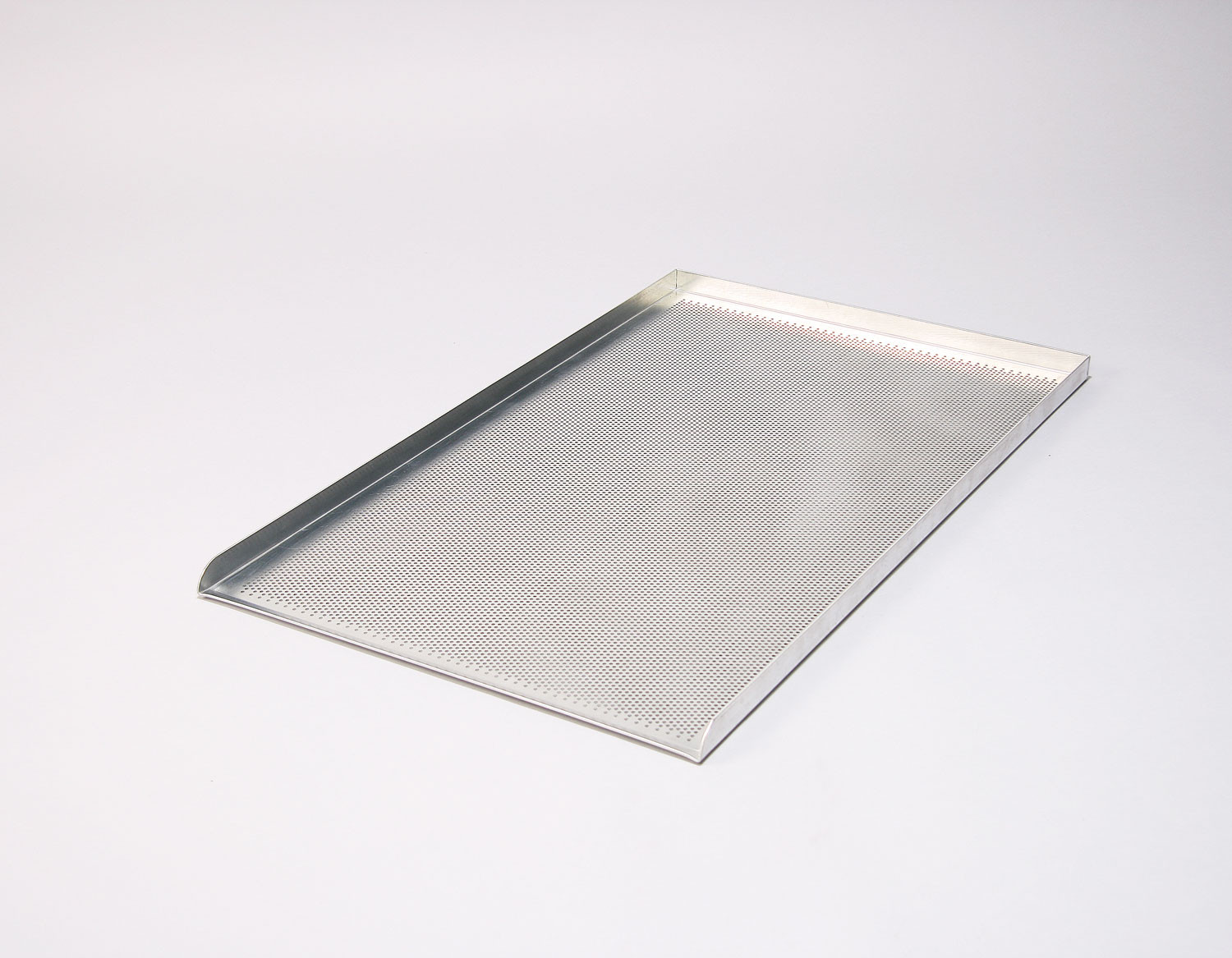 30x18x1 3 Sided Perforated Aluminium Baking Sheets
