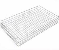 30x18x4 (50x25) Stacking Wire Tray