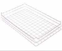 30x18x4 (40x40) Stacking Wire Tray