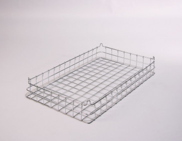 30x18x4 (50x50) 304 Stainless Steel Stacking Wire Tray