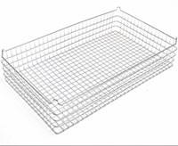 30x18x6 (25x25) Stacking Wire Tray