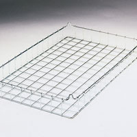 30x18x3 (50x25) 304 Stainless Steel Non Stacking Wire Tray