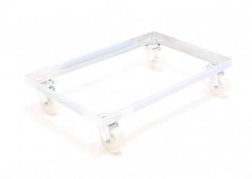 Nylon All Swivel Trolley to suit 762x457 size trays