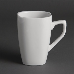 Olympia Rounded Square Mugs 284ml 10oz