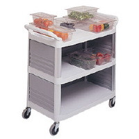 X-tra Utility Trolley, Includes three removeable side panels.