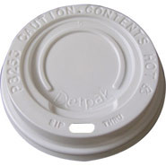 Dome Sip Lid, Fits ripple wrap 12oz & 16oz cups. Box quantity: 50.