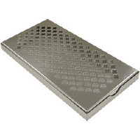Back Bar Drip Tray, Stainless Steel. Dimensions: 300 x 150 x 23mm