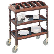 Mobile Dumb Waiter, Compartment top.