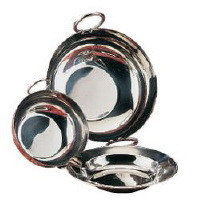 Flat Bottomed Serving Dish, Serving dish stand