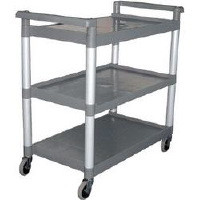 LargeTrolley, Tough polypropylene shelves.