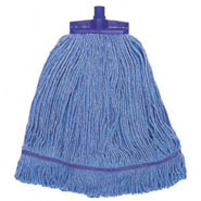 Syntex Kentucky Mop Head, Blue coloured yarn.