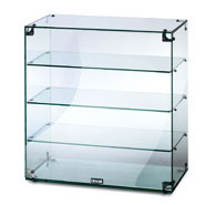 Lincat Seal Ambient Glass Display Cabinet, 4 shelves. Without doors. Model: GC46.