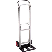 Compact Foldable Sack Trolley, 60kg capacity. Aluminium construction.