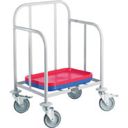 Tray Stacking Trolley, Holds up to 100 trays (not supplied).