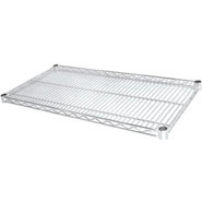 FED Wire Shelves, 1220(w) x 457(d)mm. Box quantity 4. Shelf clips included.