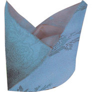 Roslin Woven Rose - Light Blue, Napkin. 559 x 559mm. Sold singly.