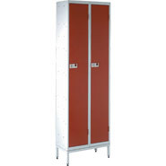 Locker Stand, Two 305mm lockers wide. (Lockers not included).