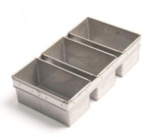400g Bread Tin Strap of 3 - Alusteel - BT400G3S