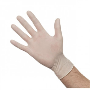 Powdered Latex Gloves Medium