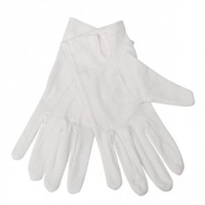 Mens Waiting Gloves White