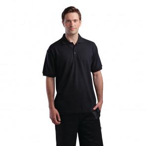 Unisex Polo Shirt Black S