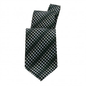 Uniform Works Black Polka Dot Tie