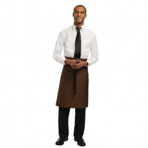 Uniform Works Regular Bistro Apron Chocolate