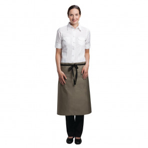Uniform Works Regular Bistro Apron Olive