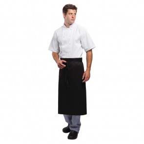 Whites Regular Waist Apron Black