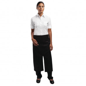 Uniform Works Bistro Apron Split Front Black
