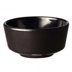 "APS Float Black Round Bowl 4"""