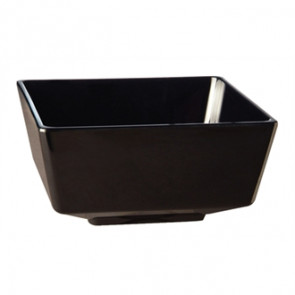"APS Float Black Square Bowl 5"""
