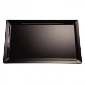APS Pure Black Melamine Tray