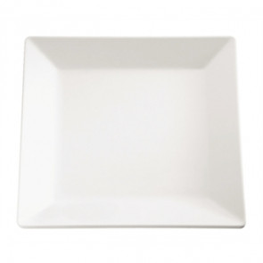 APS Pure Melamine Square Tray 10""