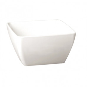 APS Pure Melamine White Square Bowl
