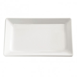 APS Pure White Melamine Tray