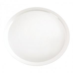 APS Pure White Round Melamine Tray