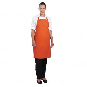 Colour by Chef Works Bib Apron Orange