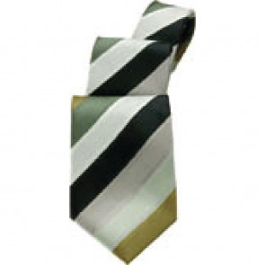 Uniform Works Olive Six Stripe Tie