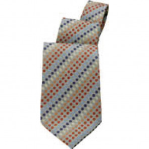 Uniform Works Earth and Orange Tone Polka Dot Tie