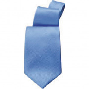 Uniform Works Solid Blue Tie