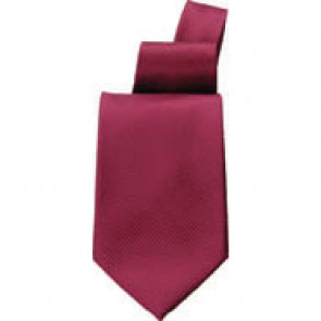 Uniform Works Solid Burgundy Tie