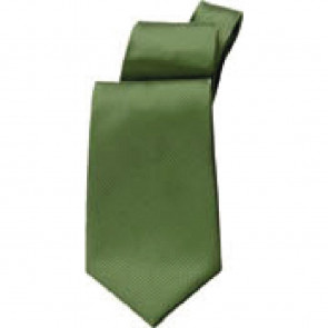 Uniform Works Solid Green Tie