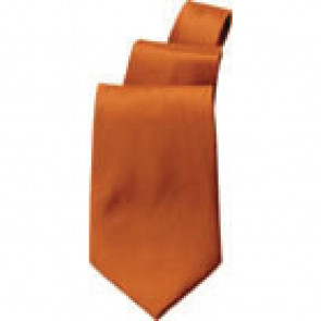 Uniform Works Solid Rust Tie