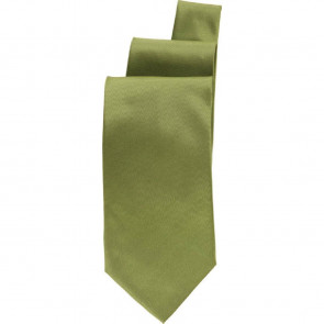 Uniform Works Lime Satin Finish Tie