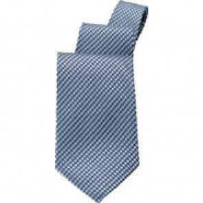 Uniform Works Blue Check Tie