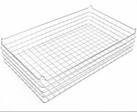 30x18x4 (40x40) 304 Stainless Steel Stacking Wire Tray
