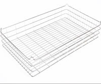 30x18x4 (75x25) Stacking Wire Tray